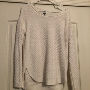 White Old Navy Sweater